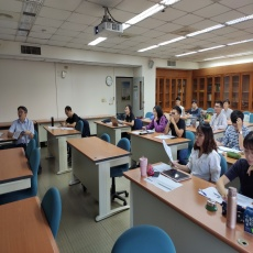 First-year Students give themselves a try on the  proposal defense